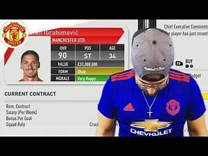 MANCHESTER UNITED SELL BEST PLAYER! FIFA 17 Career Mode #10