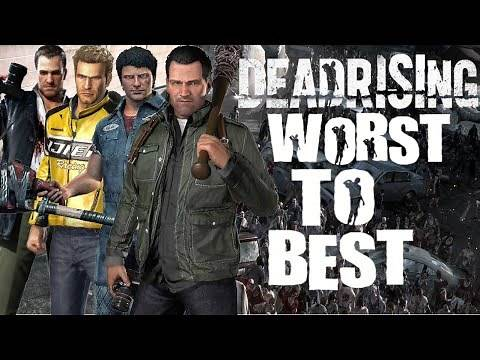 Ranking Every Dead Rising From Worst to Best (Top 5 Dead Rising Games)