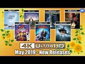 May 2019 4K Ultra HD Blu-ray New Releases | Best Buy Exclusive SteelBook