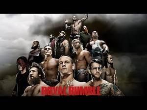 2014 Royal Rumble Match - WWE 2K14 Simulation
