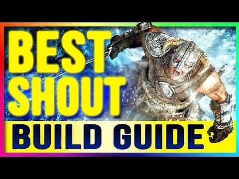 Skyrim Remastered Best Builds UNLIMITED SHOUTs Guide (PS4, XBOX ONE, PC Special Edition NO MODS)