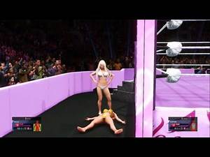 WWE 2K20 Ryona Sophie vs Venus ( No holds barred Submission match)