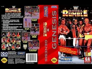 WWF Royal Rumble GENESIS Playthrough