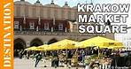 KRAKOW MARKET SQUARE - Krakow attractions - Krakow, Poland Travel Vlog
