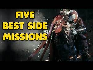 5 Best Side Missions in the Batman Arkham Series