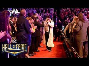 """Michael Hayes goes """"bad"""" with an impromptu concert: 2016 WWE Hall of Fame on WWE Network"""