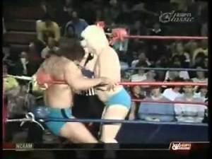 Scott Hall (w/ Curt Hennig) vs. Doug 'Pretty Boy' Sommers 3/4/86