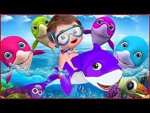 Baby Shark Dance | Sing and Dance! | Baby Shark | Banana Cartoon Songs for Childrens [HD]
