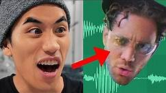 I made the CRAZIEST DROP out of his VOICE!