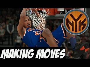 NBA 2K18 Knicks MyGM Y2   Coaching Change Potential Trade?