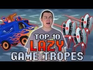 Top 10 Lazy Game Development Tropes - Square Eyed Jak