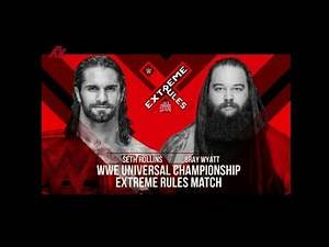 WWE Extreme Rules 2019 Match Card Prediction