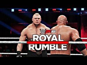WWE 2K18 - 30 Man Royal Rumble Match (PS4 & XBOX ONE)