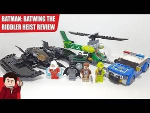 LEGO Batman: Batwing and the Riddler Heist 76120 Set Review