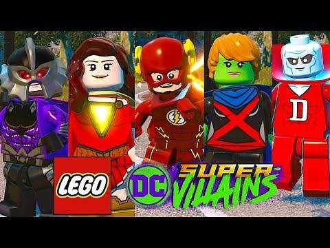 LEGO DC Super Villains - My Top 10 Favorite Season Pass Characters!