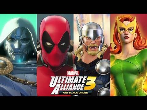 Marvel Ultimate Alliance 3 - My Top 10 Characters (With All Season Pass DLC)