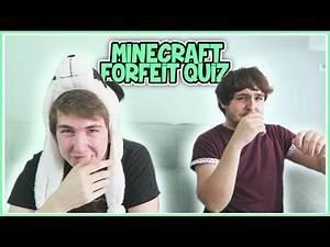 Minecraft Forfeit Quiz with TheOrionSound!