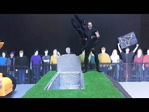 The Rock vs. The Undertaker - Buried Alive Match: WWE Action Figure Stop Motion