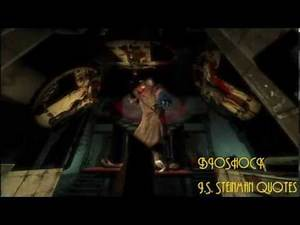 Bioshock : J.S. Steinman Quotes/Dialogue