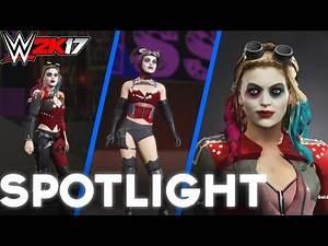 WWE 2K17 - INJUSTICE 2 HARLEY QUINN *REMAKE*