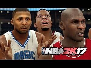 What If Every Legend Player Went Back To Their Original Team? NBA 2K17 Challenge