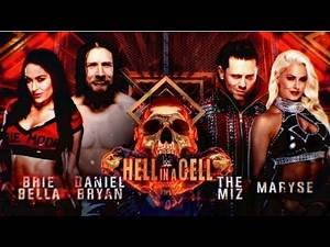 WWE Hell In A Cell 2018: Daniel Bryan & Brie Bella VS The Miz & Maryse