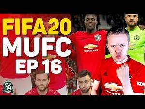FIFA 20 MANCHESTER UNITED CAREER MODE! GOLDBRIDGE Episode 16