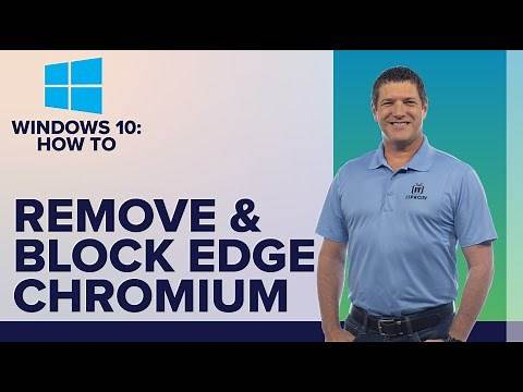 How to uninstall and block Microsoft Edge Chromium Browser in Windows 10