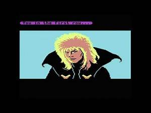 None shall pass the bog of eternal stench - Labyrinth movie vs Commodore 64 game