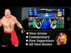 [New]How to download wwe wr3d Mod game Android Commentary+New Rosters+New superstar+arena 2017