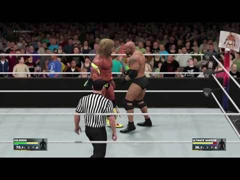 The Ultimate Warrior vs Bill Goldberg WrestleMania 32