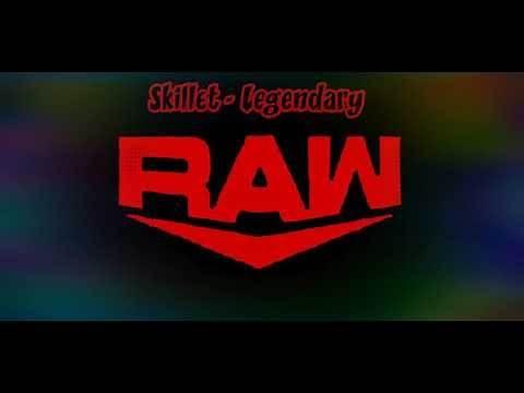 "WWE Monday Night RAW 2019-2020 Theme Song - ""Legendary"" Skillet.."