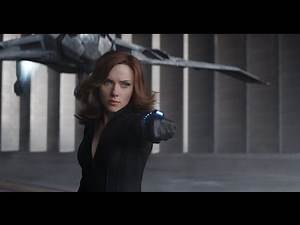 Black Widow Fight Scenes Captain America Civil War