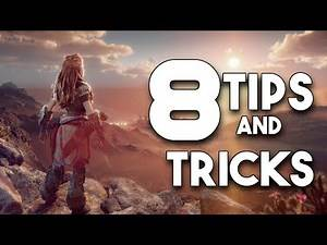 8 Tips and Tricks YOU MUST KNOW!! Before playing the PC Version of Horizon Zero Dawn