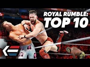 10 Greatest Royal Rumble Matches in WWE History | WrestleTalk