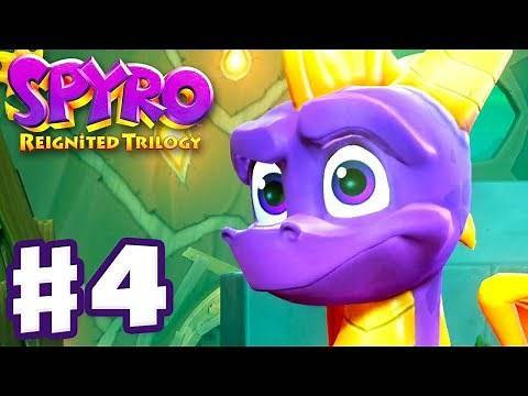 Spyro Reignited Trilogy - Spyro The Dragon - Gameplay Walkthrough Part 4 - Beast Makers (120%)