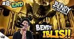 PERTARUNGAN TERAKHIR BENDY IBLIS!! Bendy and The Ink Machine Part 8 END [SUB INDO] ~Film nya The End