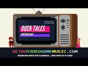 DuckTales Theme Song NES - Retro Video Game Music