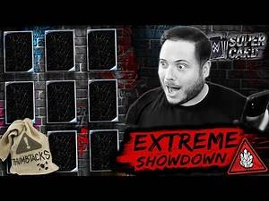 INSANE EXTREME SHOWDOWN PACK OPENING!! | WWE SuperCard