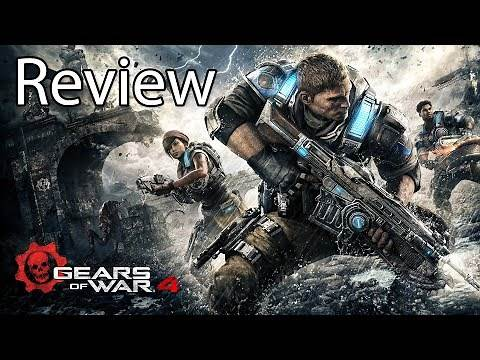 Gears of War 4 Xbox One X Gameplay Review