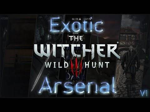 Exotic Arsenal - A Witcher 3 Weapon DLC mod