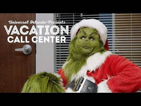 Vacation Call Center Ep. 1: The Grinch