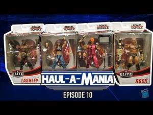 Haul-A-Mania Episode 10: WWE Elite Royal Rumble: Lita, Lashley, Savage & Rock