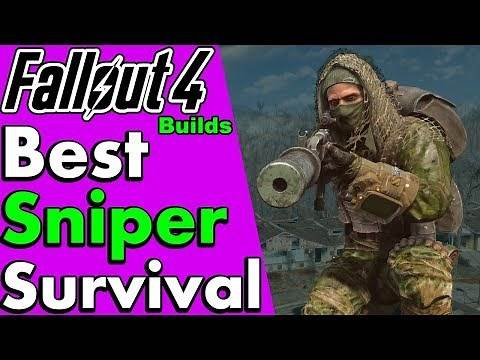 Best Sniper Build for Fallout 4 Guide (Survival, Special Starting Stats, Perks & More) #PumaThoughts