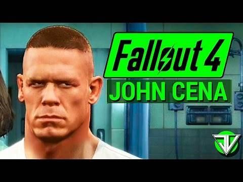 FALLOUT 4: Wrestler JOHN CENA Unarmed Character Build in Fallout 4!