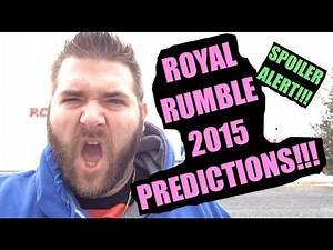 Grims WWE ROYAL RUMBLE 2015 Predictions! Full Card Match Analysis! Possible Spoilers?