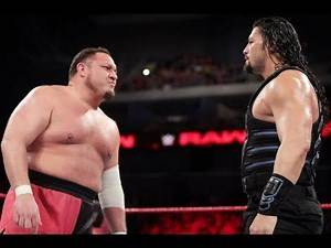 WWE Raw 2019 Roman Reigns vs Samoa Joe for Ic title highlights!