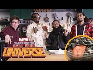 "Eat the Universe: Episode 2 - Venom-inspired Pad See ""Us"" (ft. Flatbush Zombies)"