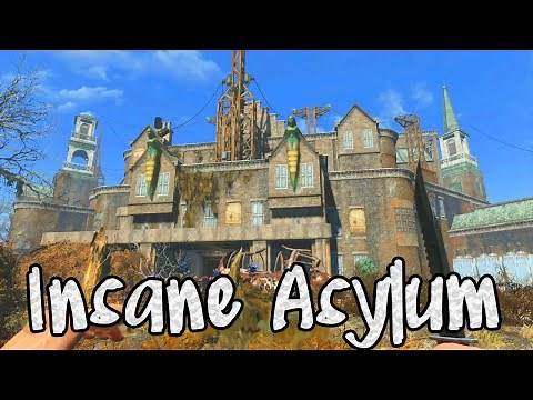 Fallout 4: How to Enter Parsons State Insane Asylum! (Quest Bobblehead)