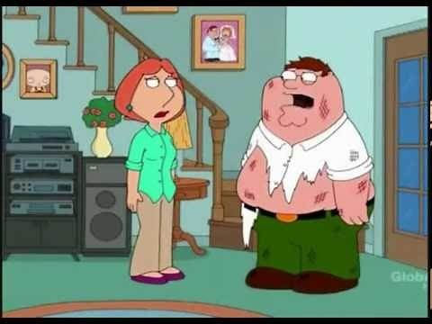 Family Guy : Falling Down Stairs